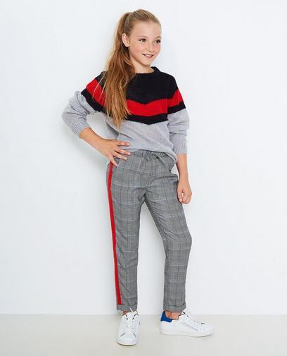 Pantalon met strook